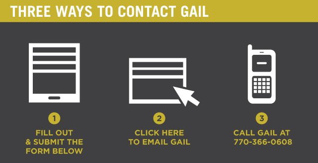 Three Ways to Contact Gail